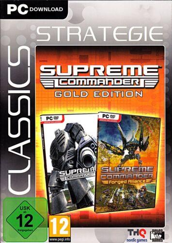 1 von 1 - DOWNLOAD: Supreme Commander Gold inkl. Forged Alliance (Download / Key) PC NEU