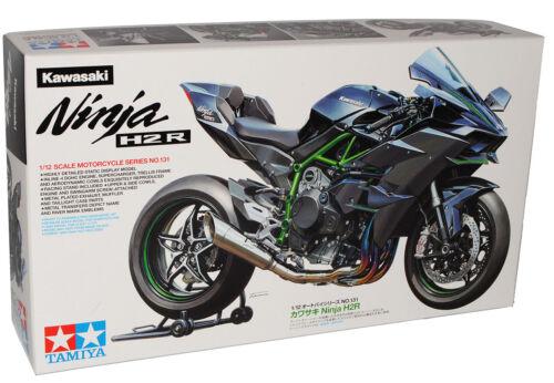 Kawasaki Ninja H2R Schwarz Ab 2014 14131 Kit Bausatz 1//12 Tamiya Modell Motorr..
