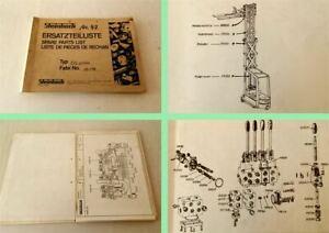 Steinbock-EFL1-560-Gabelstapler-Ersatzteilkatalog-spare-parts-list-1974-79