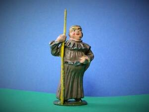 VINTAGE 50s BENBROS LEAD FRIAR TUCK FROM THE ROBIN HOOD & HIS MERRY MEN SERIES
