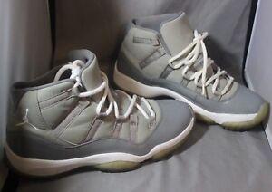 9058c783035b Nike Air Jordan XI 11 Retro 378037 001 Medium Grey White Cool Grey ...
