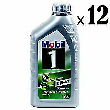 Nya 6-pack of Mobil 1 ESP Dexos2 Full Synthetic 0w40 for sale online PV-97