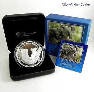 2011-AUSTRALIA-KOALA-SERIES-5oz-Silver-Coin-in-Box