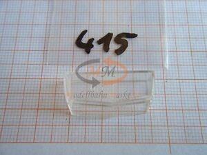 10x ALBEDO Ersatzteil Ladegut Verglasung Scheibe Fenster H0 1:87 - 0415