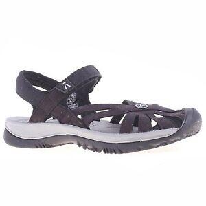 0cf47a373c4 Women Keen ROSE SANDAL 1008783 Black Sticking Strap Sporty Sandal ...