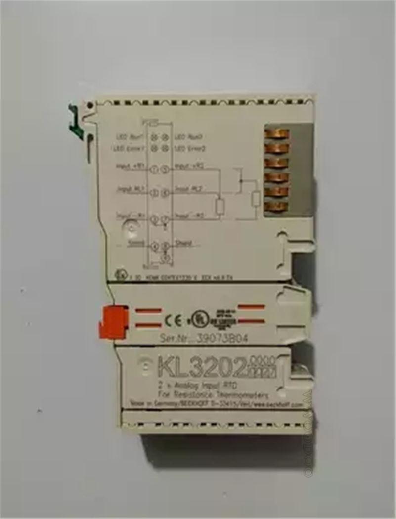 RTD BECKHOFF KL3202  2-Kanal-Analog-Eingangsklemme PT100 ..