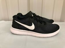 Nike Womens RN 2017 Run Running Shoes 880840 001 Sz 7 Black