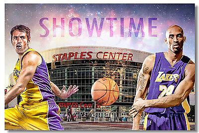 Poster Kevin Garnett Basketball Star Boy Room Art Wall Cloth Print 511