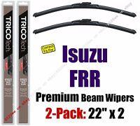 Wiper Blades 2-pack Premium - Fit 1997-2004 Isuzu Frr - 19220x2