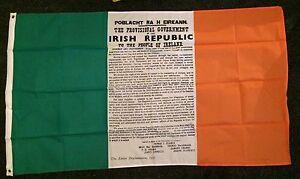 irish tricolour 1916 flag nationalist ireland easter republic