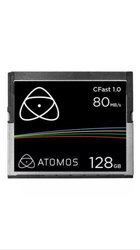 Atomos CFast 1.0 CompactFlash Card for Ninja Star /& Shogun 128GB ATOMCFT128 NEW!