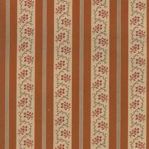 Moda Tissu Spice it up rouille striée-par 1//4 mètre