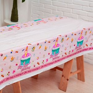 Image Is Loading Plastic Rectangle Table Cover Frozen Baby Kids Birthday