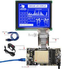 8051 Microcontroller Development Board Kit for 320x240 Graphic LCD Module