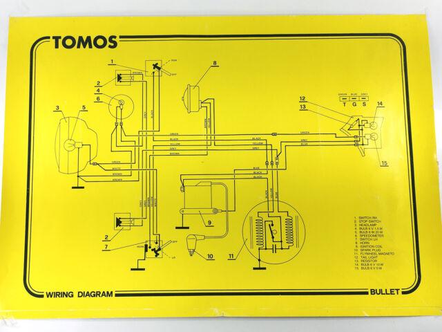 Tomos Bullet Wiring Diagram Full Size