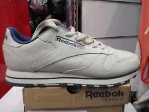 Scarpe donna Reebok Classic  CL LTHR  ecru/navy Reebok Classic 28413
