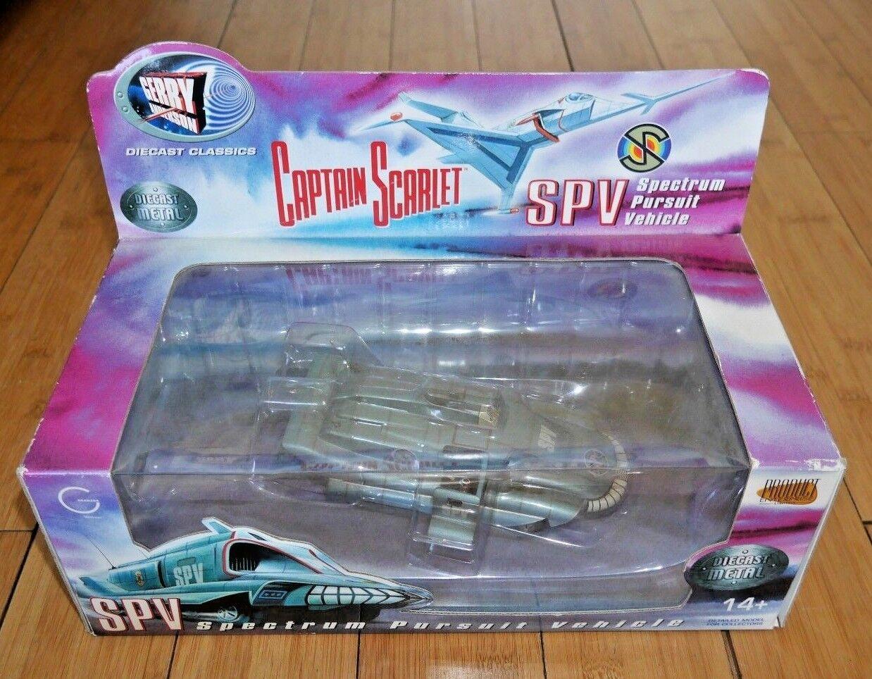 El capitán escarlata SPV producto Enterprise Modelo Gerry Anderson En Caja Raro B393