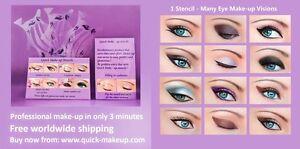 3-Set-Quick-Makeup-Stencils-12-Eyeliner-Stickies-Eye-Shadow-Eyebrow-ORIGINAL-CA1