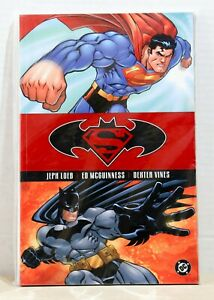 DC-TPB-Graphic-Novel-Superman-Batman-Public-Enemies-By-Loeb-Mcguinness-2002-NM