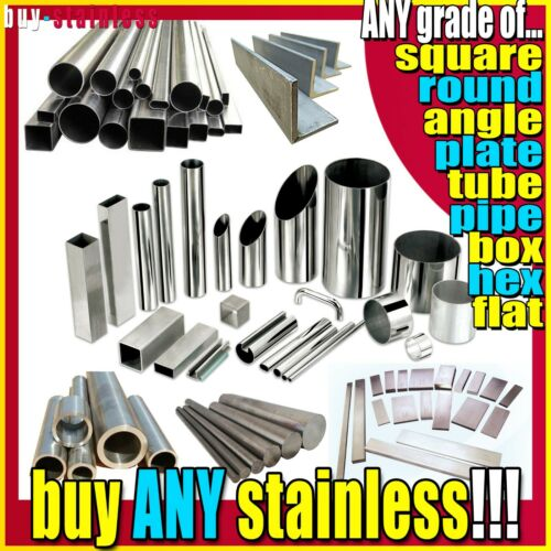 70 X 3 Grade 316 Stainless Steel Flat Bar *** ANY LENGTH ***