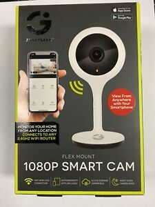 Smart Gear 1080P Smart Cam, White NEW, FAST SHIPPING