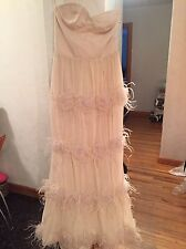 Alice + Olivia Runway Gown Dress , Sample With Tag, Retail $1900
