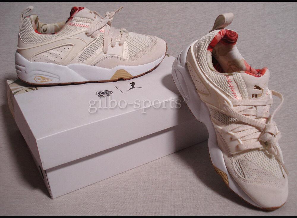 Zapatos promocionales para hombres y mujeres Puma BOG x CAREAUX x Whisper Beige Flower SELTEN! Neu Gr. 40 40,5 362317 01