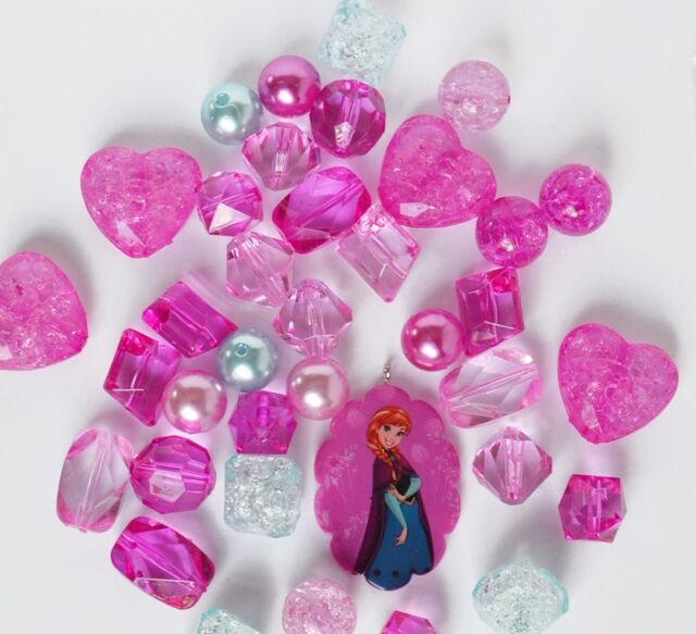Dress It Up DISNEY FROZEN ELSA PENDANT Crafting  Beads Kit Jesse James Beads