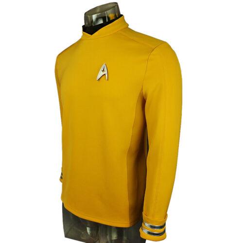 Cosplay Star Trek Beyond Red Captain Kirk Uniform Spock Blue Uniform Scotty Red