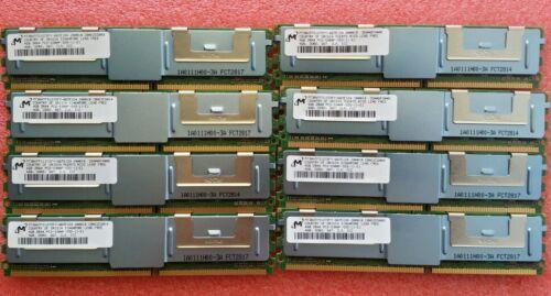 32GB 8@4GB RAM for Dell Precision workstation 490 690 R5400 T5400 T7400 1 year W