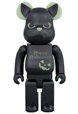 400% Medicom 2016 Halloween Bearbrick Glow in Dark GID Be@rbrick