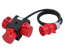 CEE Adapter Stromverteiler CEE 16A 400V - 3 x 16 A Baustromverteiler Verteiler