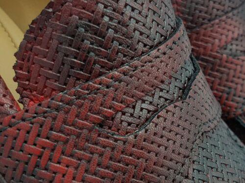 Scarpe eleganti uomo 2 PIÙ DUE 1055 vera pelle rossa norvegese churchill 2019