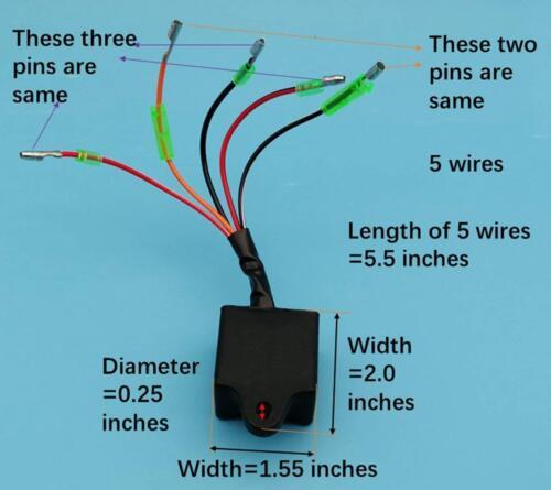 CDI Box Yamaha Yfs 200 Yfs200 Blaster 1988 1990 1991 1992 1993 1994 1995-2002