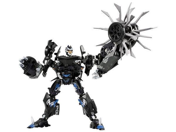 Transformers Gigapower GP HQ03 Gutter Howling Dinosaur Metallic Paint Reprint