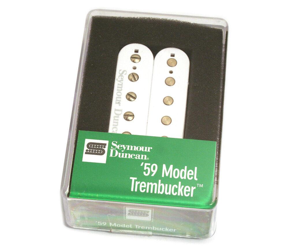 11103-05-W Seymour Duncan TB-59 blancoo'59 Trembucker puente Recogida Guitarra Guitarra Guitarra  ¡No dudes! ¡Compra ahora!