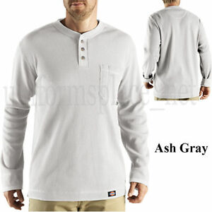 Dickies Mens Henley Shirt