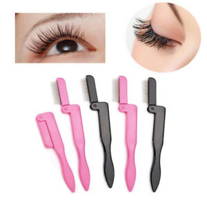 New-Foldable-Eyelash-Comb-Metal-Eyebrow-Brush-Tool-Mascara-Separator-Lash-Curl