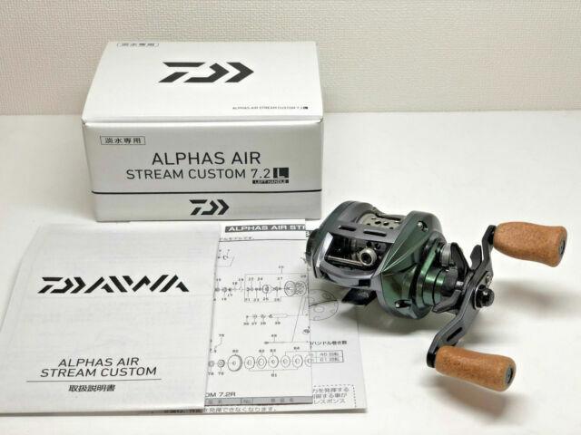 2018 NEW Daiwa Reel Alpha Air Stream Custom 7.2R right from japan