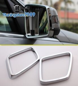 Image Is Loading Chrome Side Mirror Frame Trim Rims Mercedes Benz