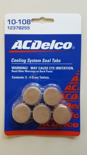 10-108 Cooling System Seal Tabs  Free Shipping 12378255