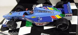 Minichamps-1-43-Scale-430-990080-Benetton-F1-1999-Showcar-A-Wurz-Diecast-F1-Car
