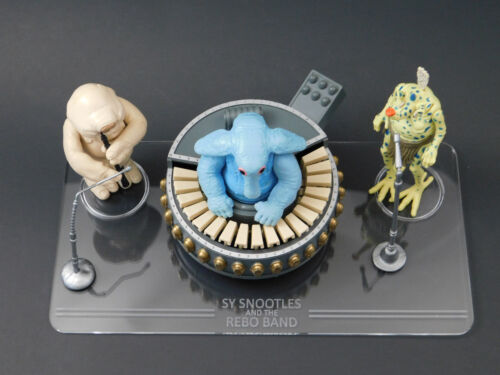 Vintage Star Wars Rebo Band Display Stand 1 x Synergy Stands stand only