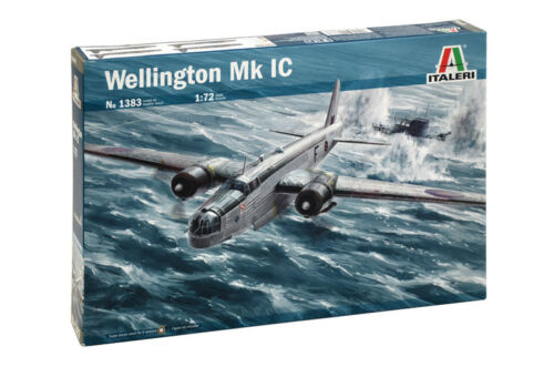 Italeri Wellington Mk IC Plastic Model Airplane Kit 172 1383