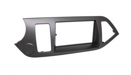 Para kia picanto ta auto radio diafragma instalación marco doble DIN 2-din negro