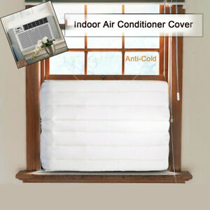 Window-Indoor-Air-Conditioner-Cover-Unit-Canvas-Waterproof-Accessories-Polyester