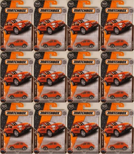 MATCHBOX #12 /'16 Fiat 500X 2018 issue ● LOT of 12x NEW in BLISTERS