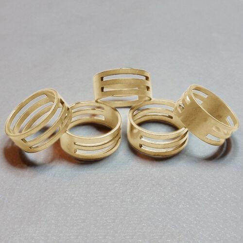 Latón Jump anillo abrir//cerrar herramientas para hacer joyas resultados X