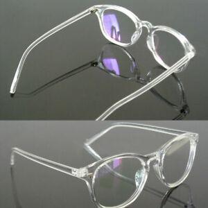 Unisex-Brillengestell-Retro-Transparente-Vollrandbrille-Beste