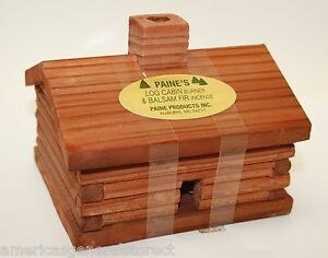 Medium Log Cabin Incense Burner Paine S 4 Quot X3 5 Quot X3 25